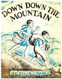 Down Down the Mountain book cover