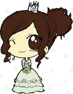 Quinceanera cartoon