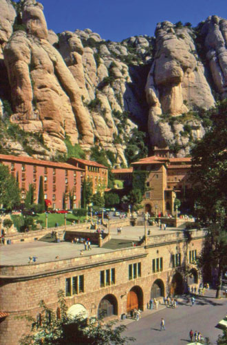monastery at montserrat spain 01