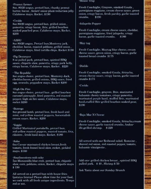Lake City Craft burgers menu October 2019.jpg